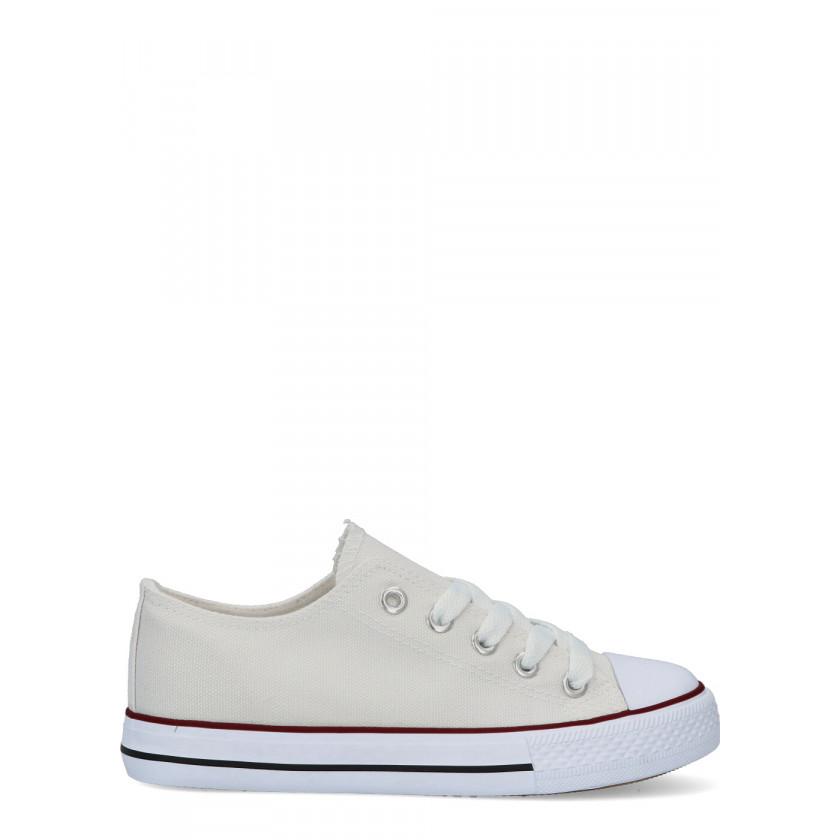 VVNN Sneakers casual niño/niña DEM TO326 BLANCO